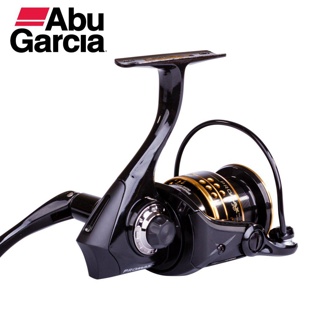 Abu Garcia PRO MAX Top Quality 6+1 Ball Bearing 14lb Carbon Fiber Max Drag Gear Ratio 5.1:1 Spinning Fishing Reel - BLACK