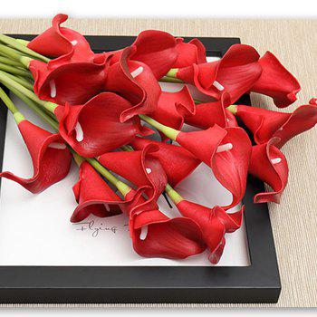 Anti-real flower calla flowers - RED RED