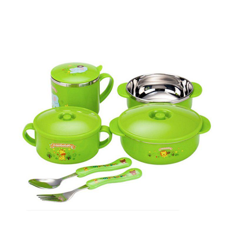stainless steel tableware six sets gift boxed - IVY
