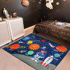 Cartoon Universe  Children Learning Carpet Play Carpet Kids Rugs Boy Girl Nursery Bedroom Playroom Classrooms - BLUE