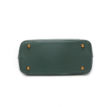 Atmospheric Wild Bag Female 2018 New Fashion Matte Leather Shoulder Messenger Bag Simple Commuter Handbag - GREEN