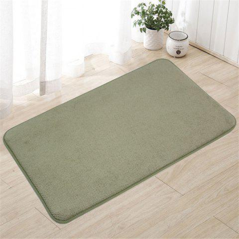 The bathroom toilet lobby door pedal antiskid mat mat mat - GREEN 60CM X 90CM