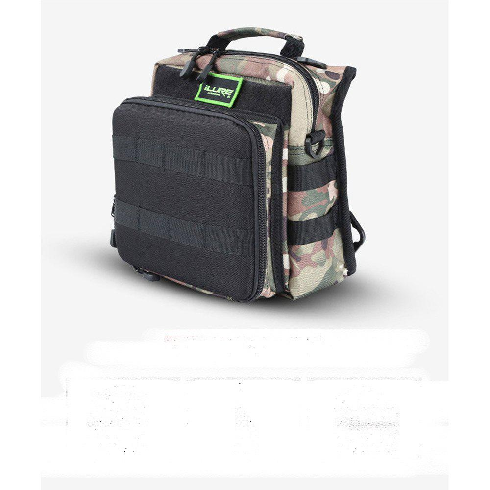 ILURE Brave Saddle Bag - URBAN CAMOUFLAGE