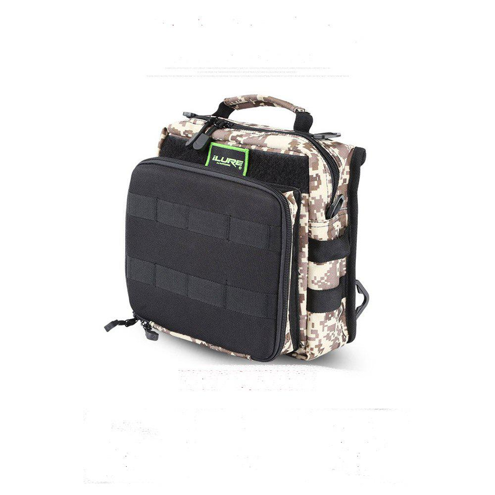 ILURE Brave Saddle Bag - MARPAT DESERT