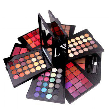 ZD F2061 132 Colors Eyeshadow Blusher Lipstick Foundation Makeup Palette With Brushes 1pc - COLORMIX COLORMIX