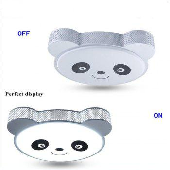 24 Watts of LED Bedroom Reading Lovely Panda Cartoon Ceiling Lamp 48 x 38 CM -  WHITE