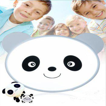 24 Watts of Three Color LED Bedroom Books for The Eye Lovable Panda Cartoon Ceiling 48 x 38 CM - WHITE WHITE