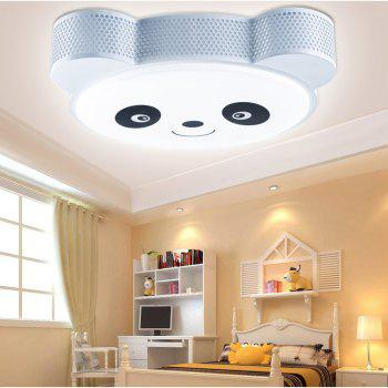 24 Watts of Three Color LED Bedroom Books for The Eye Lovable Panda Cartoon Ceiling 48 x 38 CM -  WHITE