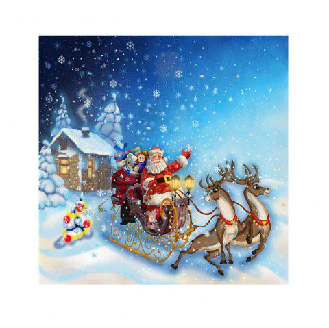 Naiyue 7269 Father Christmas Print Draw Diamond Drawing - COLORMIX 1PC