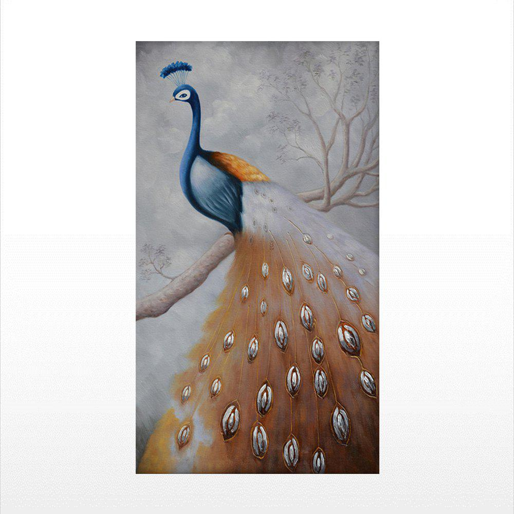 Naiyue 7045 Peacock Print Draw Diamond Drawing - COLORMIX 1PC