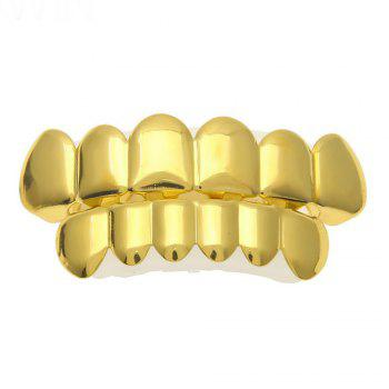 Hip Hop 18k Gold Plated Gold  Classic