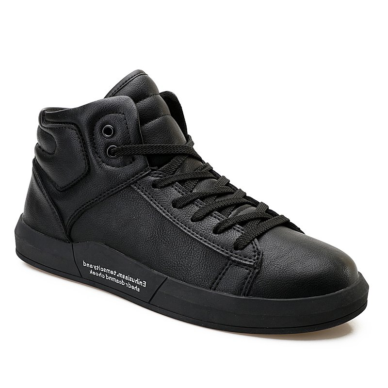 Men's Autumn Outdoor Hiking High Breathable Casual Sports Shoes 39-44 - BLACK 40