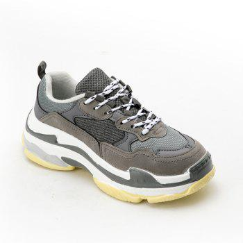 Men's Autumn Outdoor  High Breathable Casual Sports Shoes 39-44 - GRAY GRAY
