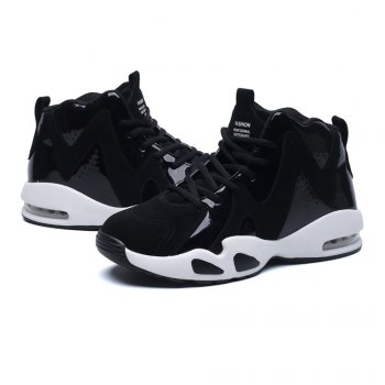Men's Autumn Outdoor Hiking High Help Casual Sports Shoes 39-44 - BLACK BLACK