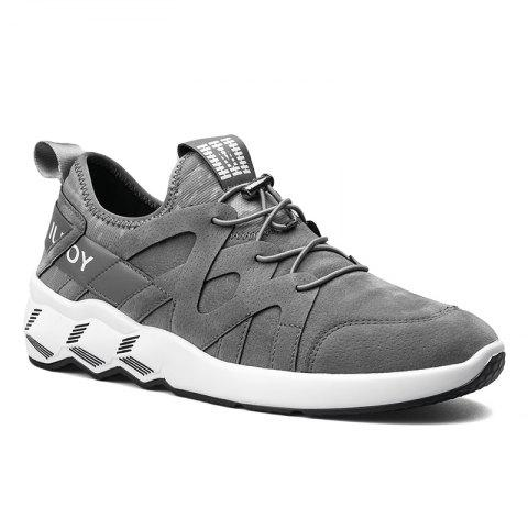 Men's Autumn Outdoor Leisure Breathable High Help Hiking Sneakers 39-44 - GRAY 40
