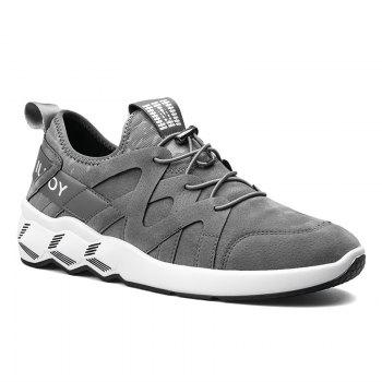 Men's Autumn Outdoor Leisure Breathable High Help Hiking Sneakers 39-44 - GRAY GRAY