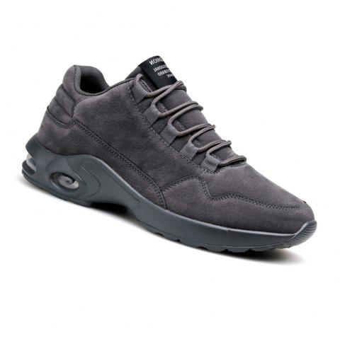 Men's Autumn Outdoor Ventilation Leisure High Hiking Sneakers 39-44 - GRAY 40