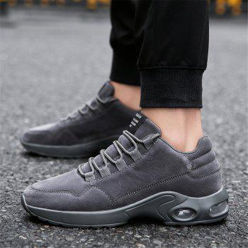 Men's Autumn Outdoor Ventilation Leisure High Hiking Sneakers 39-44 - GRAY GRAY