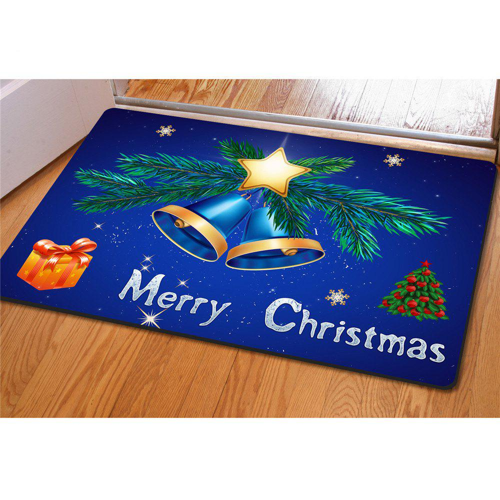 entrance doormats welcome indoor outdoor mat merry christmas decorative deep blue