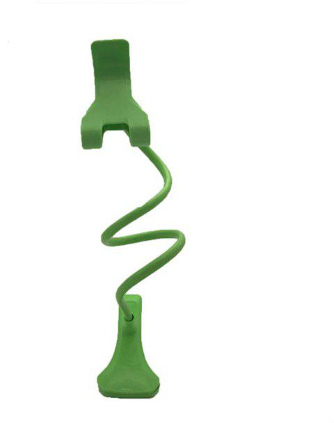 Creative Type of Gooseneck General Mobile Phones Support Folding Lazy Stents - GREEN