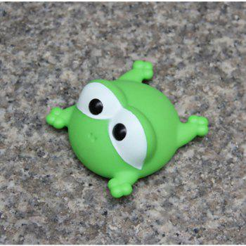 Cute Animals Floating Squeeze Sounding Baby Bath Toys Soft Rubber Kids Children Swimming pool Toy Frog Baby Shower -  GREEN