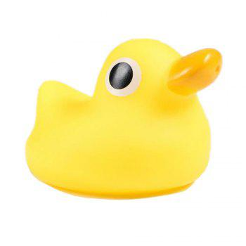 Cute Animals Floating Squeeze Sounding Baby Bath Toys Soft Rubber Kids Children Swimming pool Toy Frog Baby Shower - YELLOW YELLOW