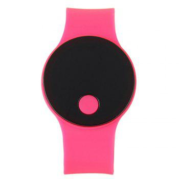 LED Wristbands Waterproof Clock Men Women Fashion Silicon Luminous Electronic Student Sport Wrist Watches Gift - ROSE RED ROSE RED