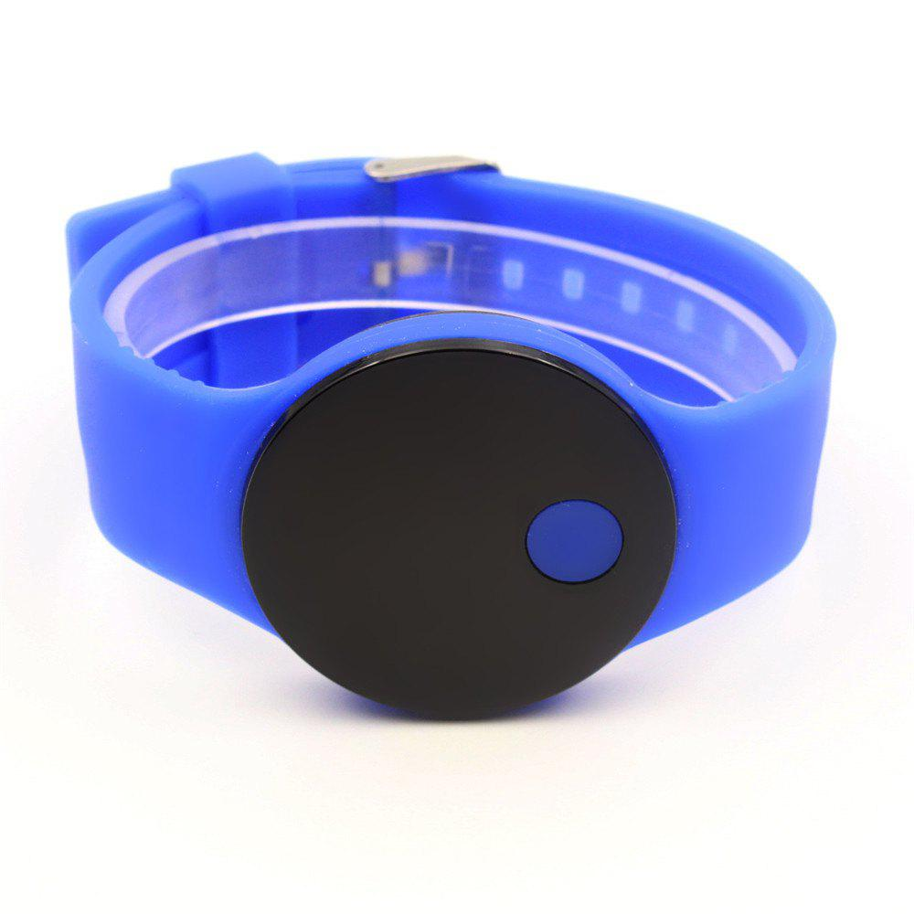 LED Wristbands Waterproof Clock Men Women Fashion Silicon Luminous Electronic Student Sport Wrist Watches Gift - BLUE