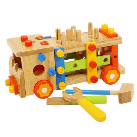Assembling and More Fun for Kids Pratice Tools Truck Other Educational Toys - COLORMIX