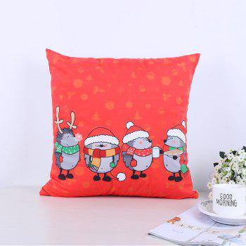 Christmas Pillow Cushion - RED RED