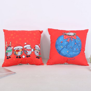 Christmas Pillow Cushion - RED STYLE2