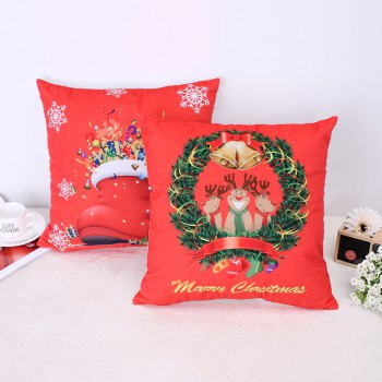 Christmas Deer Christmas Socks Pillow -  RED
