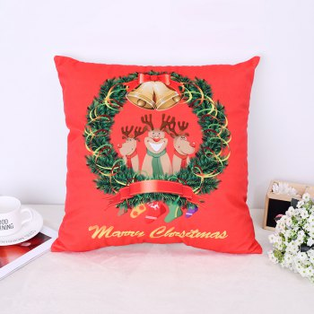 Christmas Deer Christmas Socks Pillow - RED RED
