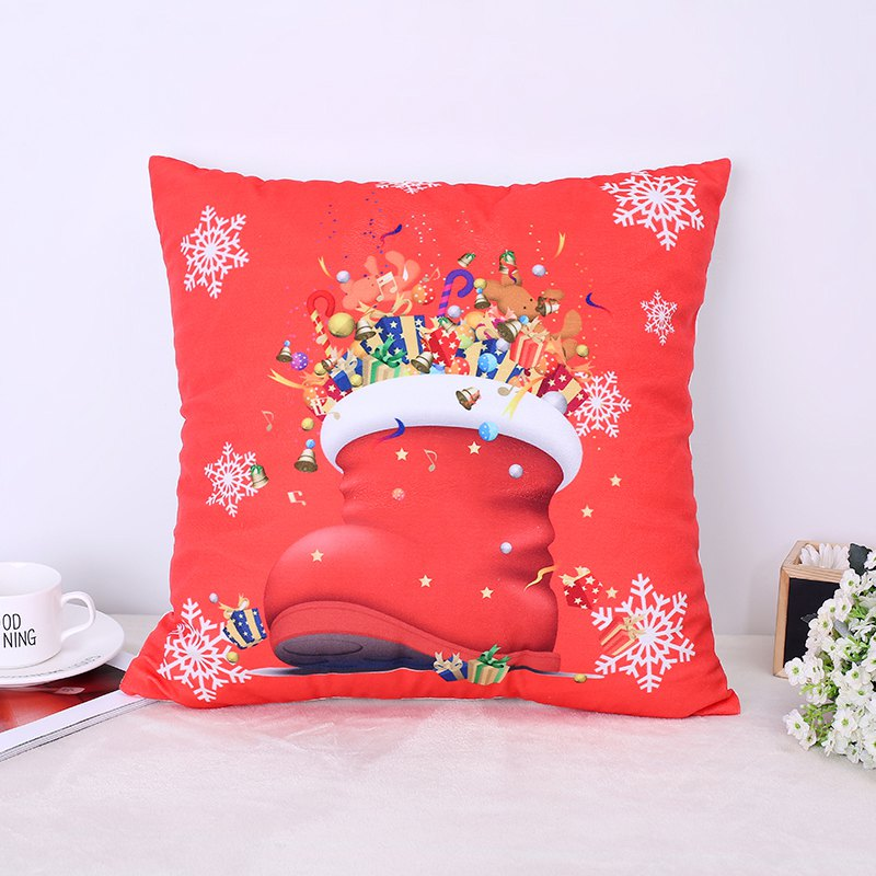 Christmas Deer Christmas Socks Pillow - FLAME