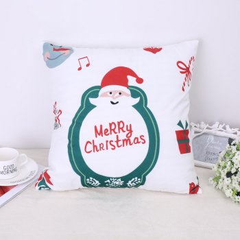 Merry Christmas, Words, Santa Claus. - WHITE + RED WHITE / RED