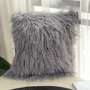 Candy Plush Pillow Comfortable and Soft - GRAY GRAY