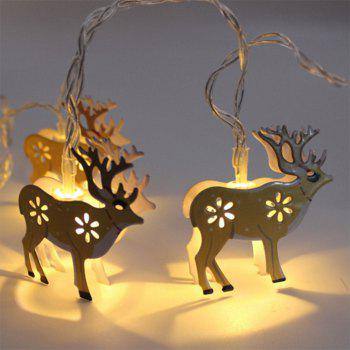 BRELONG LED Christmas Elk light string Holiday decoration -1.5m10led - WARM WHITE WARM WHITE