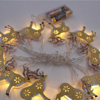 BRELONG LED Christmas Elk light string Holiday decoration -1.5m10led -  WARM WHITE