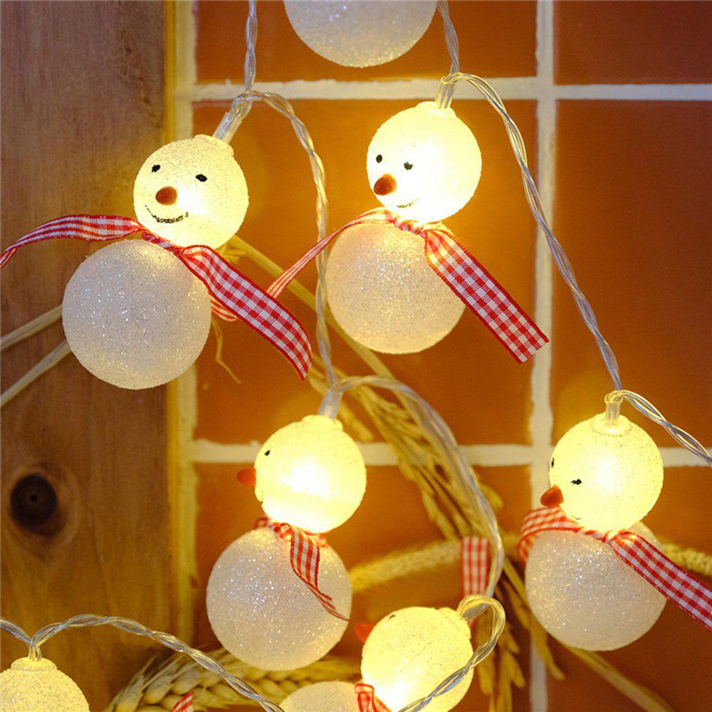 BRELONG LED Christmas  Lamp String Christmas Decoration -1m10led - WARM WHITE