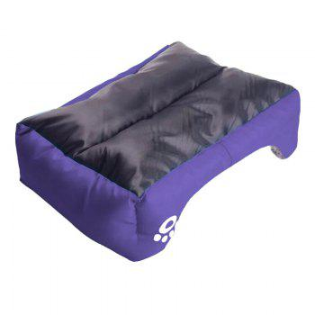 Large Dog Bed Puppy Cats Beds Multicolor Soft Waterproof Pets Sleeping Bed House Kennels Matt Pads S-XXXL Size - PURPLE M