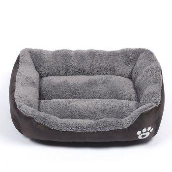 Large Dog Bed Puppy Cats Beds Multicolor Soft Waterproof Pets Sleeping Bed House Kennels Matt Pads S-XXXL Size - BROWNIE BROWNIE
