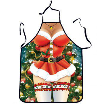 Sexy Funny Cooking Kitchen Aprons for Christmas Party Gifts - RED RED