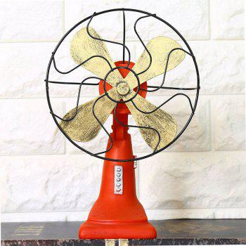 Home Decorations Fan Technology Decoration 13640 - RED RED