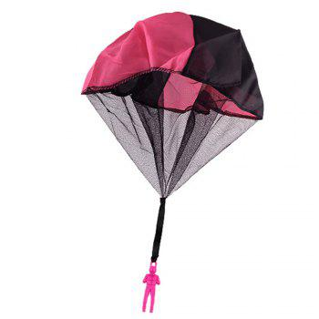 Children Throwing Soldiers Parachute Chamber Outdoor Sports Strange New Toy - SANGRIA SANGRIA