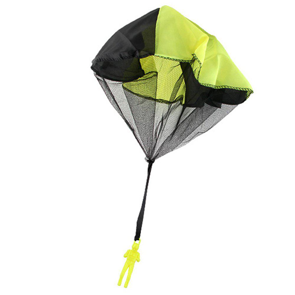 Children Throwing Soldier Parachute Chamber Outdoor Sport Classic Toy - IVY