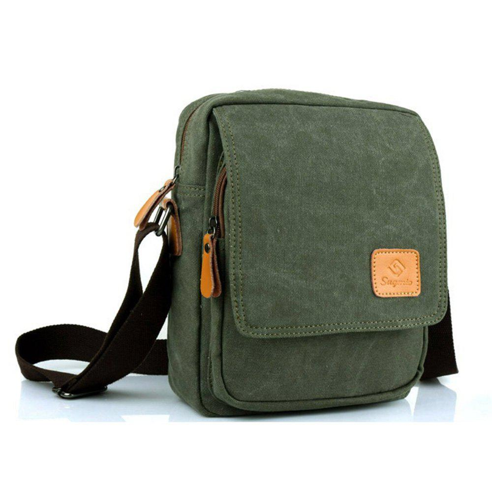 Korean Fashion and Casual Mini Single Shoulder Bag - GRASS GREEN