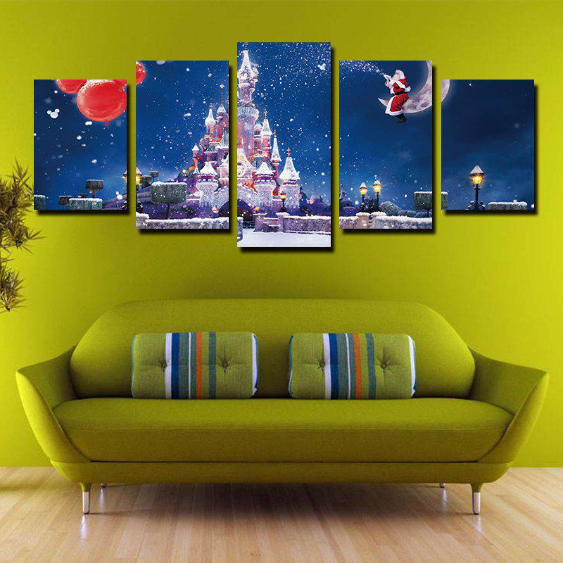 2018 Modern Creative Canvas Prints for Christmas Frameless Home ...