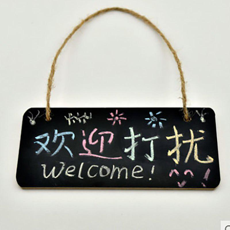 DIHE DIY MINI Small Blackboard Hanging Creativity - BLACK