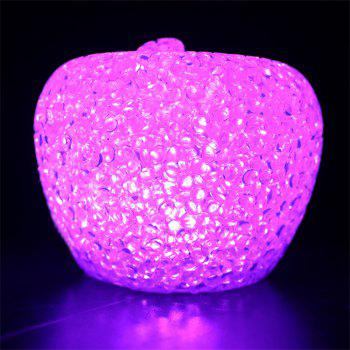 JUEJA Noël Lampe Lumière Noël Cadeau Mini Mignon Fruits RGB Multicolore LED Décor Nightlight - RGB