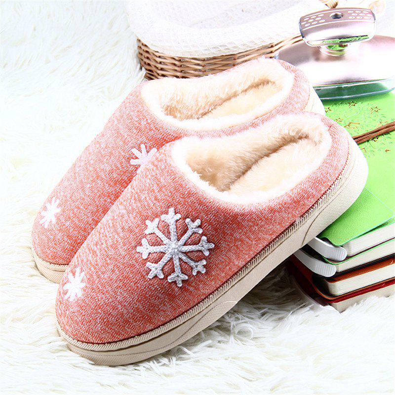 ZEACAVA Snow Warm Comfort Cotton Slippers - JACINTH 44